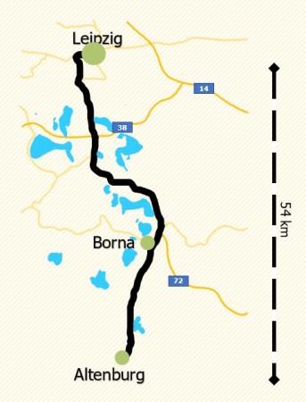 Karte Regionen